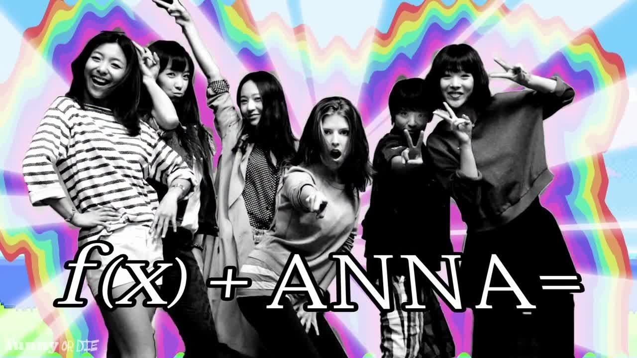 Anna Kendrick goes K-Pop with F(x) - YouTube F(x) Electric Shock