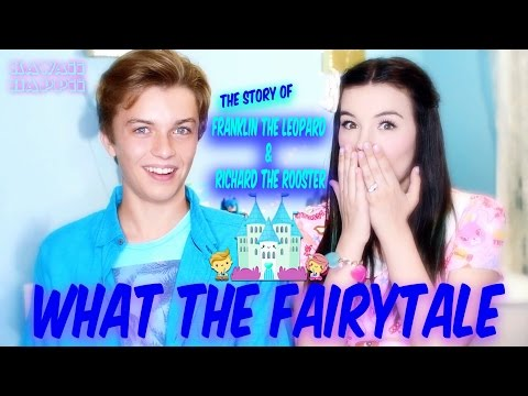 What The Fairytale ~ Funny Story of Franklin the Leopard & Richard the Rooster