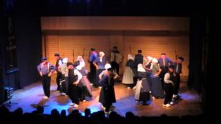 Dutch folk dance: Driekusman