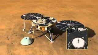 InSight Mission - Animation of Spacecraft
