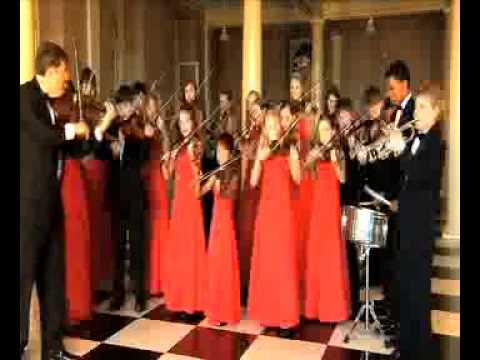 Nashville Suzuki Players' tribute to WWll Vets - YouTube