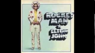 WLS-AM Radio Edit - Rocket Man - Elton John 1972