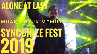 Download Alone at Last - Muak Untuk Memuja Live at Syncronize Fest 2019