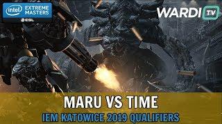 Maru vs TIME (TvT) - IEM Katowice 2019 Server Qualifiers