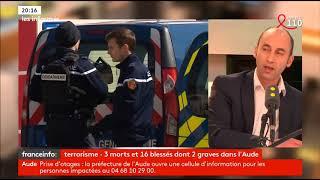 Terrorisme : 3 morts et 16 blessés dans l'Aude