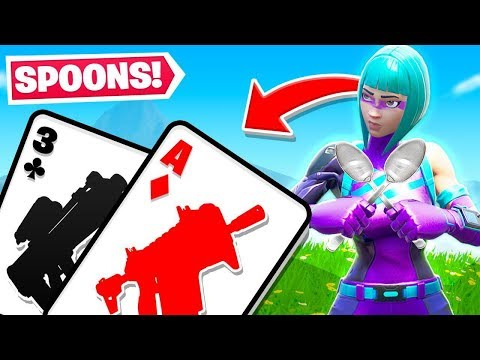 SPOONS For YOUR VAULTED LOOT! W/Ssundee (Fortnite Card Game)