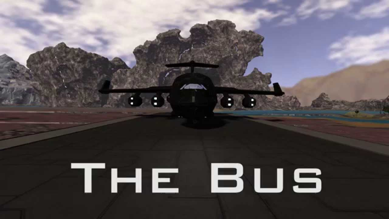 """Space Engineers: """"The Bus"""" from Marvels Agents of S.H.I.E ..."""
