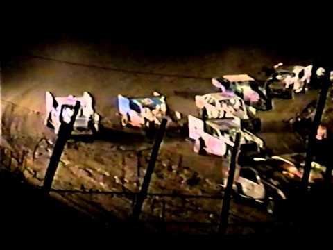Penn Can Speedway Dirt Modified feature race on 9-17 1999