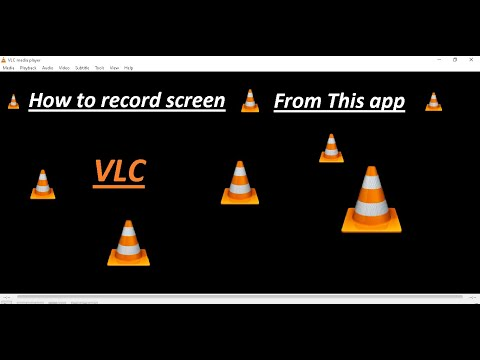How To Record Screen With VLC Media Player | 1st Time