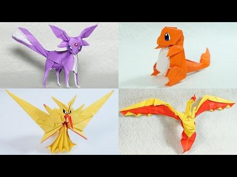How to make Paper Pokemon: Easy Origami Pokemon Instructions | 360x480