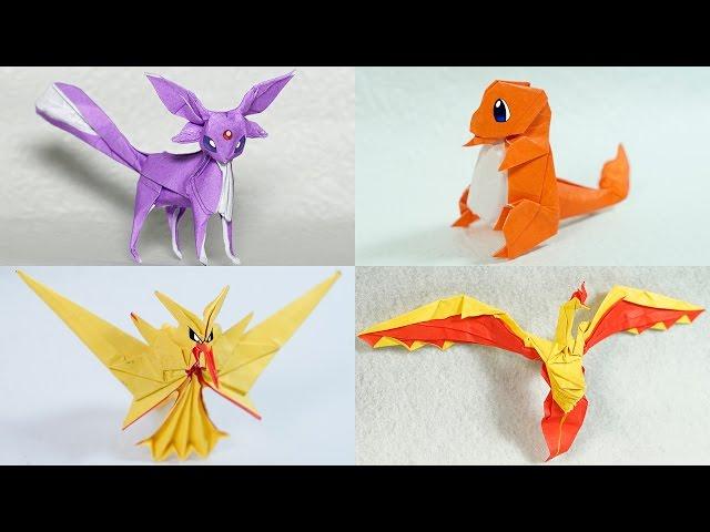 8 Original Pokemon Origami Tutorials