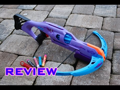[REVIEW] Nerf Rebelle Codebreaker Unboxing, Review, & Firing Test