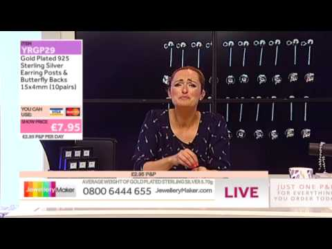 How To Make Gemstone Jewellery - JewelleryMaker LIVE (AM) 30/07/2014
