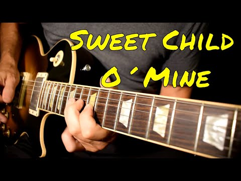 Guns n roses – Sweet Child O' Mine solo cover