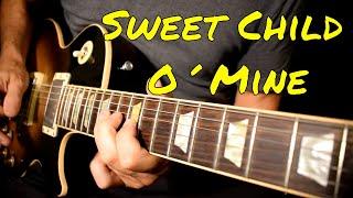 Guns N Roses Sweet Child O 39 Mine solo cover.mp3