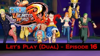 Let's Play One Piece Unlimited World Red #16 | AMIRAUX En Masse  ! (feat.Kisae)