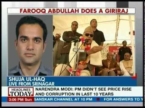 Throw Modi supporters into sea: Farooq Abdullah