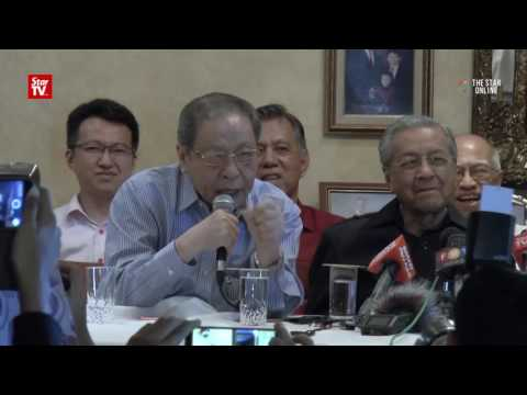 Kit Siang chides TV3 reporter