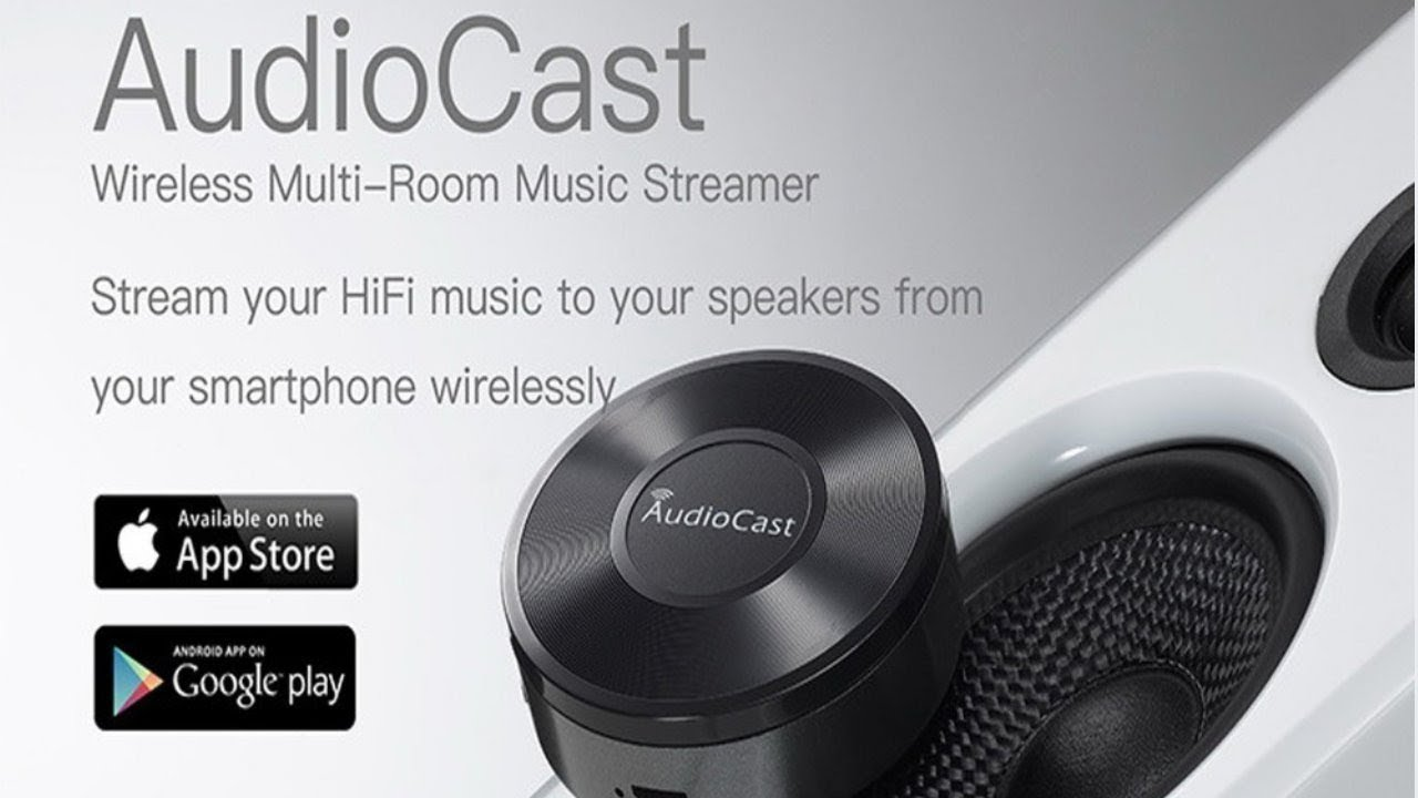AudioCast- AudioCast Multiroom allows you to stream your favorite music to  all the rooms