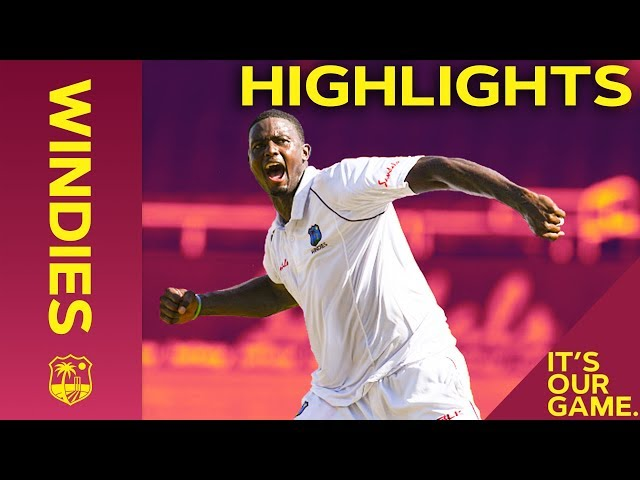 Kohli Hits 50 As Holder Shines On Day 1 | Windies vs India 2nd Test Day 1 2019 - Highlights