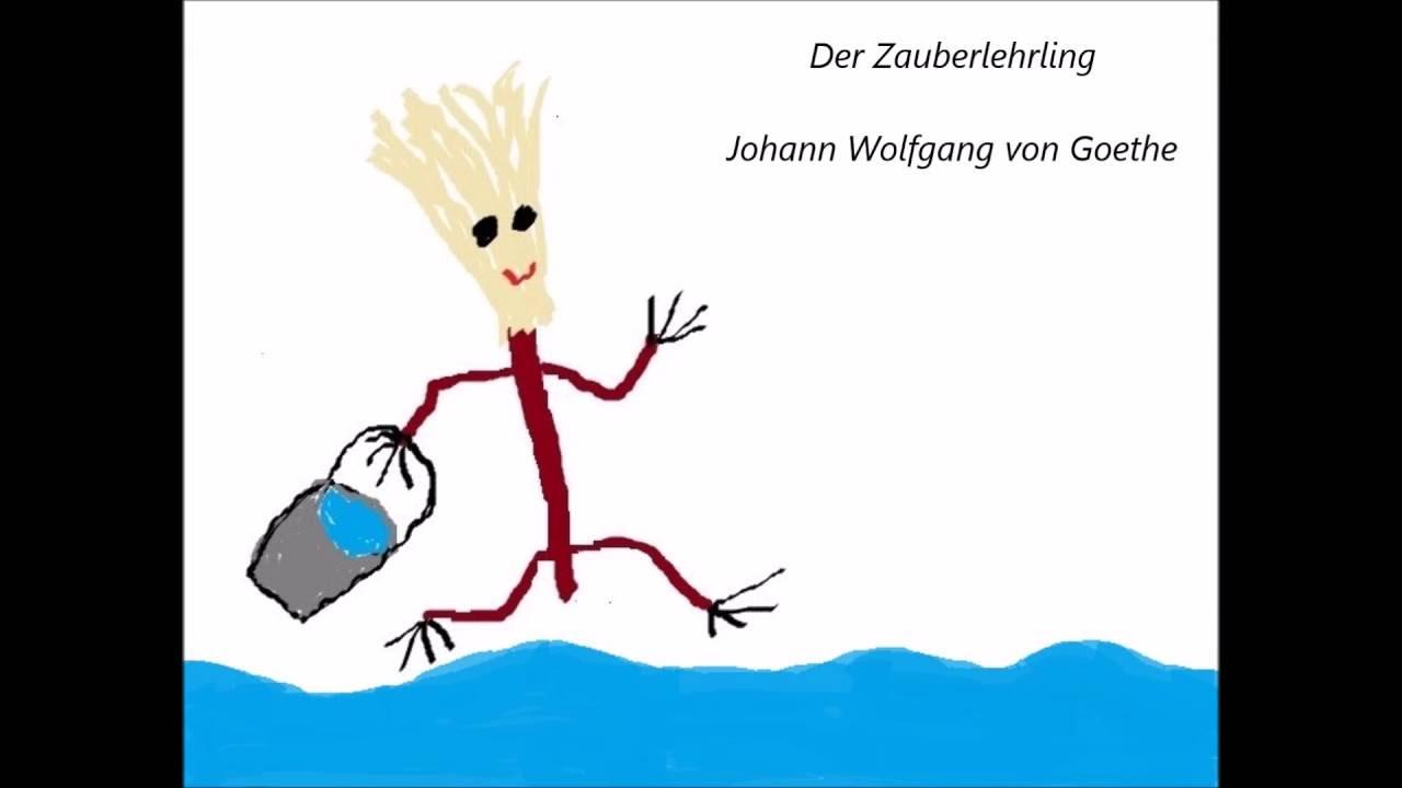 Der Zauberlehrling Johann Wolfgang Von Goethe Gedicht Ballade Lesung Deutsch Audiobook