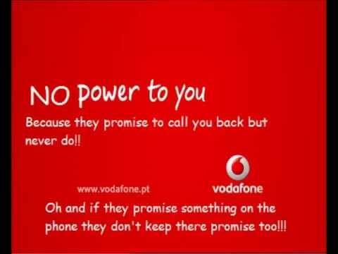 How Vodafone treats it's loyal customers