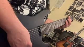 #esp #ltd #espguitars #ltdguitars ESP LTD M-7HT Baritone Electric Guitar Review