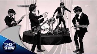 Saat manggung, G-Pluck Beatles Band gunakan gitar yang sama dengan The Beatles