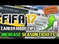 watch he video of FIFA 18: HOW TO INCREASE SEASON TICKET HOLDERS ON CAREER MODE