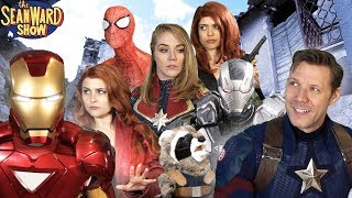 AVENGERS after ENDGAME - Iron Man & Captain America Return! Epic Parody The Sean Ward Show