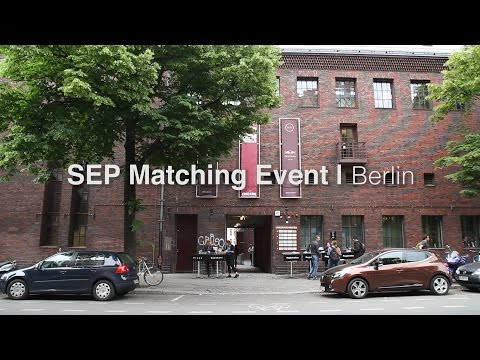 SEP Matching Event Berlin 2016 - Startup Europe Summit
