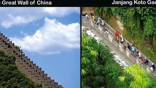 Tak Hanya China, Bukittinggi Juga Punya 'Great Wall'