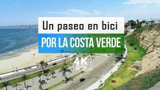 A walk along the COSTA VERDE Lima Peru 2021 4k