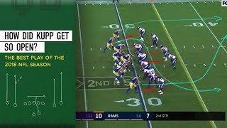 How Did Kupp Get So Open? - The Best Play of the 2018 Season