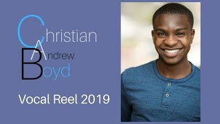 Christian Andrew Boyd- Vocal Reel 2019