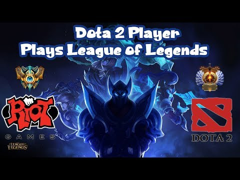 What Happens When Dota 2 Player Plays Zed - League Of Legends
