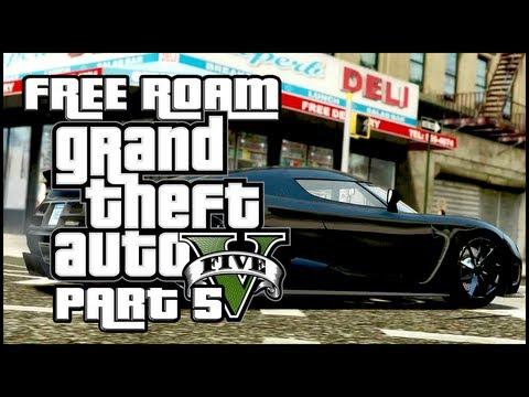 Grand Theft Auto 5 : Free Roam Madness - Part 5 (18+)