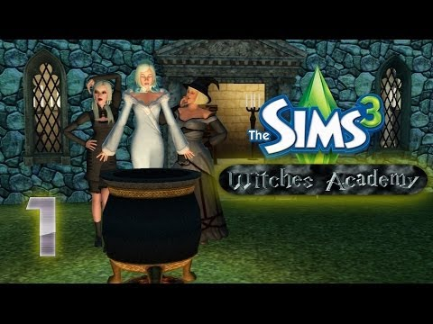 Let's Play - The Sims 3 Witches Academy (Part 1) The Craft