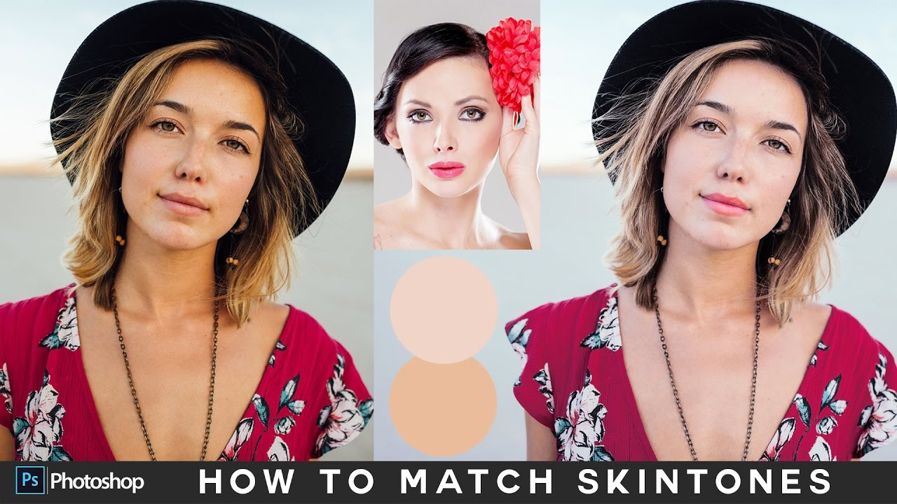 c2ac8ad173 How to Match Skin Tones in Photoshop - Matching Skin Color Between Photos  Tutorial