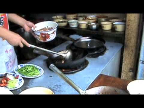 Cooking Up Chinese Food In Guzan China