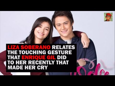 The touching thing Enrique Gil did that made Liza Soberano cry
