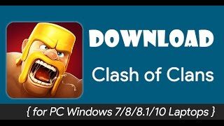 How to play Clash of Clans on PC without Bluestacks 100% WORKS!! YouTube