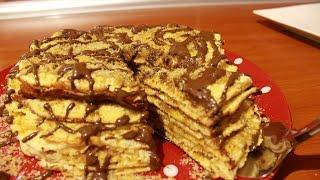 Šuškave palačinke sa orasima- Pancakes with Nuts