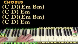 Body (Dreezy) Piano Lesson Chord Chart