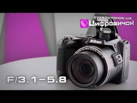 Видеообзор Nikon CoolPix L120