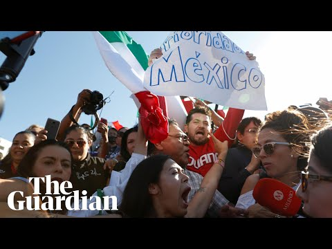 Mexicans protest against migrant caravan: We dont want you here