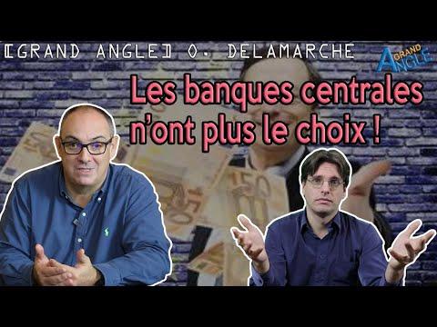 """""""Les banques centrales sont tenues par les marchés !"""" Olivier Delamarche"""
