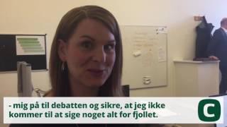 Christiansborg - Mette Abildgaard viser rundt