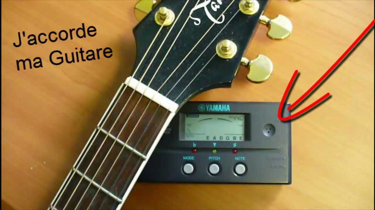 comment accorder une guitare youtube. Black Bedroom Furniture Sets. Home Design Ideas