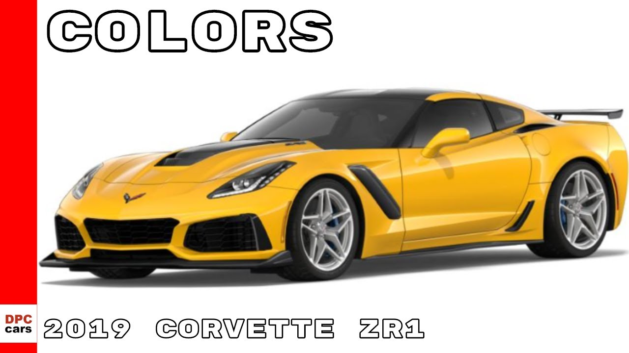 2019 Corvette Zr1 Colors
